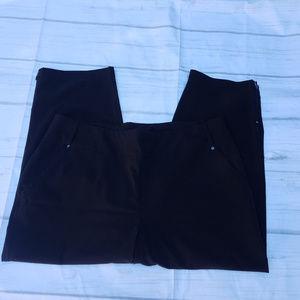 ZENERGY Black STRETCH Pull Up Capris Size 2 (12)